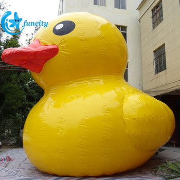For water park funny summer inflatable pool yellow duck