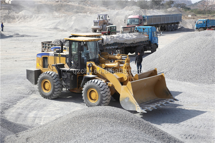 Chinese famous SEM669C 6Ton tractor with front end loader