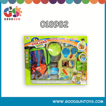 Popular kids camping camping play set pretend kids camping