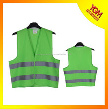 environmental green bike safety vest hot sell