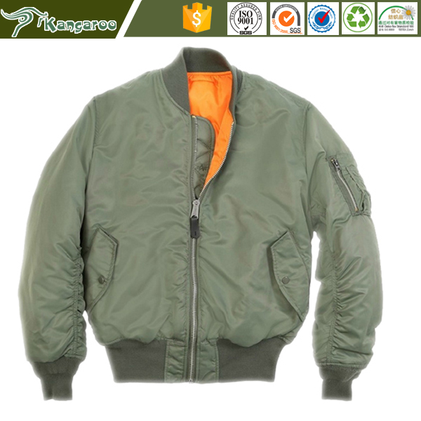 Ma-1 Pilot Winter Military Flight Men Bomber Jacket Wholesale