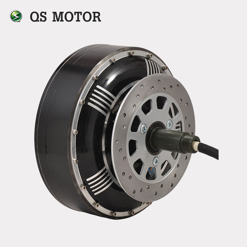 QSMOTOR 7000W V2 273 High Power Efficiency brushless 72v dc electric car hub motor with CE