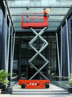 Top quality self propelled scissor lift,window cleaning lift