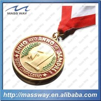 Zinc Alloy Brass Gold Medallion Custom