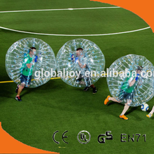 2015 hot selling large inflatable ball/soccer bubble/popular adult games