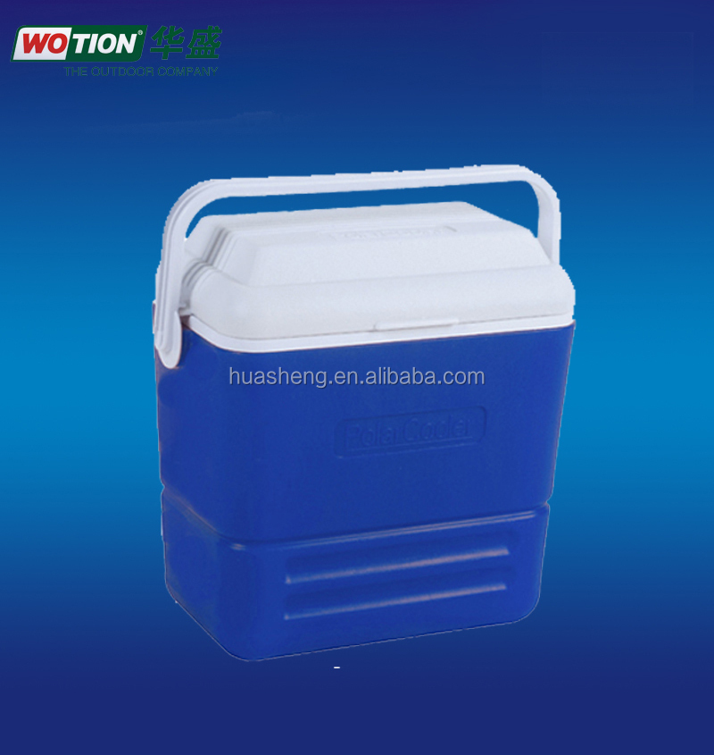 36L plastic cooler box with handle