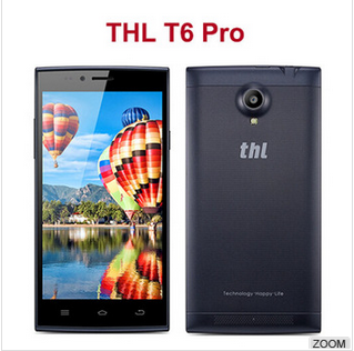 THL T6S Pro phones MTK6592 octa Core Play Store WCDMA 3G pear phone for sale