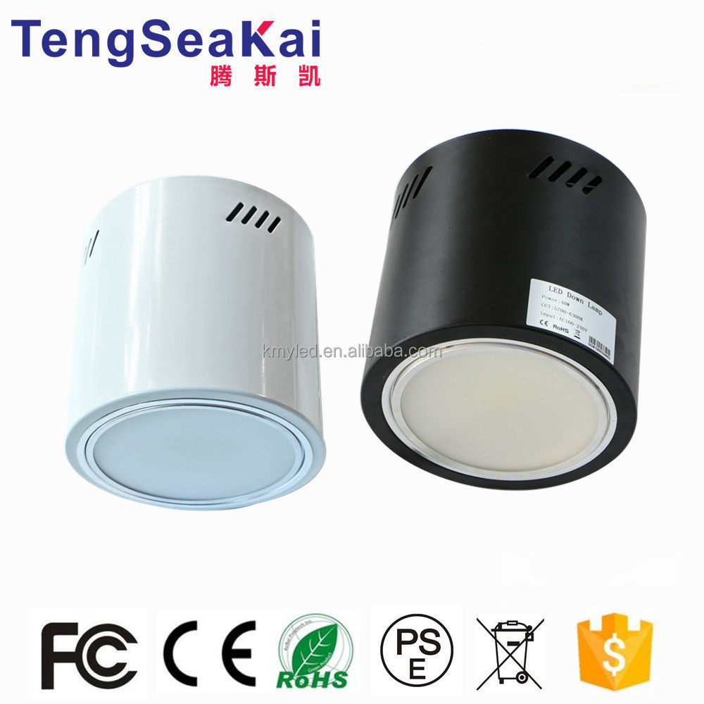 Architectural lights ceiling mounted integrated surface mounted LED downlight CREEChips 80W