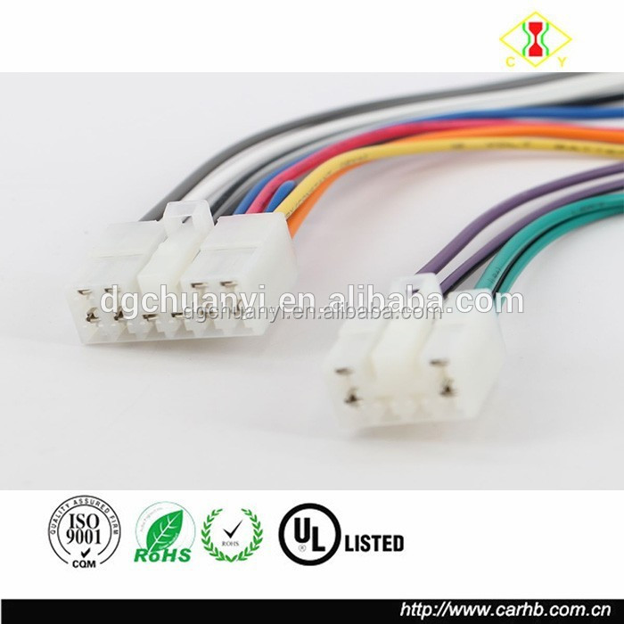 China supplier Toyota Corolla Crown Camey Auto Connector Wire Harness