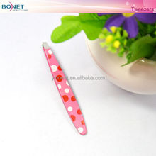 BTZ0274B 2014 Fashion White Small Eyebrow Tweezers