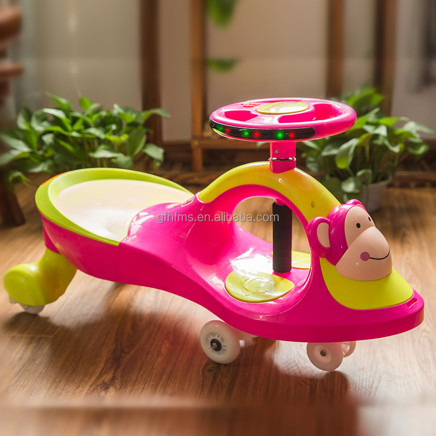 China Manufacturer PP Material Children Toy Ride On Twist Car