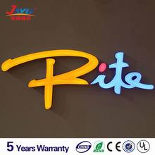 Customized design outdoor led laser lights letters logo