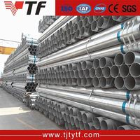 Trade Assurance Hot sale galvanized rigid steel pipe