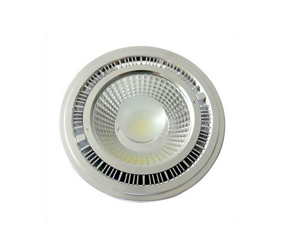Cold Warm White COB Not Dimmable GU10 AR111 ES111 QR111 DC 12V AC 110V 220V 12W 15W lamp light Bulb