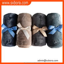 doggy extra thick living room airline plush wholesale tartan sherpa blanket tv sofa sheet