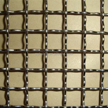 low carbon steel crimped wire mesh of 0.6mm wire with 3mm hole opening barbecue wire netting