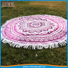 Beach Tapestry Towel Round Pool Home Blanket Table Cloth 100% cotton towels