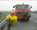 Truck mounted Road Guardrail Cleaner