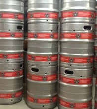 Commercial keg use stackable beer keg