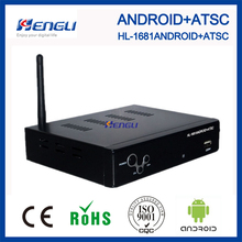 2017 popular android 4.2 tv box atsc set top box android tv box