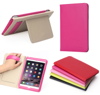 new arrvial genuine leather handhold case for ipad mini 4,for ipad 4 mini smart cover
