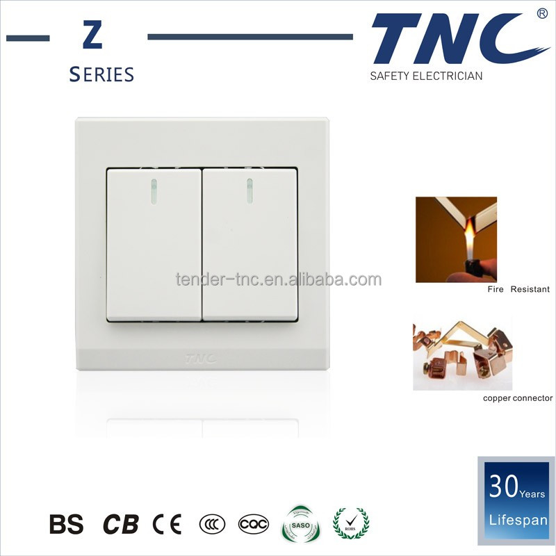 New Design Products Red Copper Super Quality 100M Range Doorbell Wall Switches