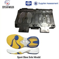 Manufacturing Basketball Shoes EVA With Rubber Phylon Midsole Mould