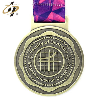 Custom metal zinc alloy bronze runner finisher medals