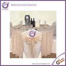 #19778 chiffon fabric table overlay dining table cover for wedding favors uk