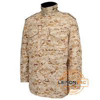 Military Uniform and Jacket for Saudi in Stock Desert Camouflage Military ISO standard