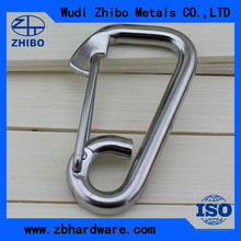 Stainless Steel Aisi304/316 Simple Rope Snap Hook