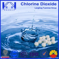 1g/tablet Drinking Water Treatment Chemical Chlorine Dioxide Tablet