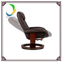 Modern electric leather recliner chair,automatic motor recliner chair