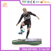 Fantasy Football Player Figura <span class=keywords><strong>de</strong></span> Acción <span class=keywords><strong>De</strong></span> Plástico personalizada