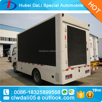 New arrival Out-door LED mobile advertising truck led display outdoor for sale