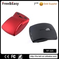 Most fashion style fold super slim mini optical mouse