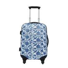 "Colorful cycle printing 20"" 24"" 28"" abs trolley travel luggage set"