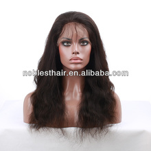 wholesale brazilian hair full lace wig 100% virgin brazilian hair natural color straight French Swiss transparent brown Lace Med
