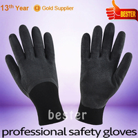 New Arrival Best-Selling safety rubber palm coated work gloves