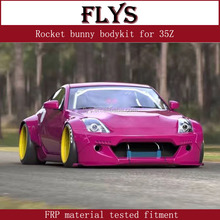 rocket bunny body kit for nissam 350Z wide body 2003-2008 fiberglass material tested fitment