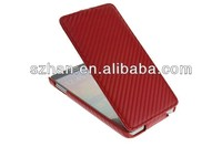 New Carbon Fiber Flip Leather Case For Samsung Galaxy Note 3 III N9000 GT-N9005