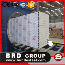 Integrated Wall Board used Soundproof Polyurethane Sandwich Panels