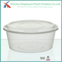 3L disposable bubble transparent plastic bowl