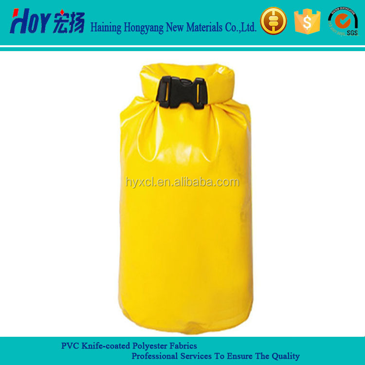 Waterproof PVC Knife Coated Fabric For Dry Bag / Waterproof Dry Bag