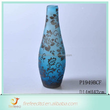 Different types Chinese glass vase for home decoration