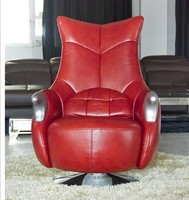 red swivel chairs