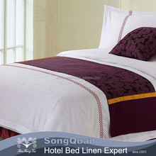 Poly-cotton Material 5 Star Hotel Popular 100% Cotton Sateen Bed Sheets Cheap Comforter Sets Prices