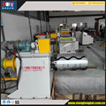 Fully automatic slitting machine with decoiler
