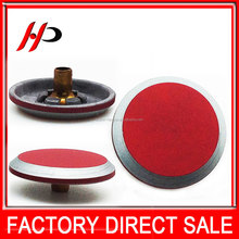 New design fashion 17mm round metal zinc alloy decorative snap button covers