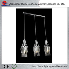 Luxury crystal hanging light E14 pendant light on discount